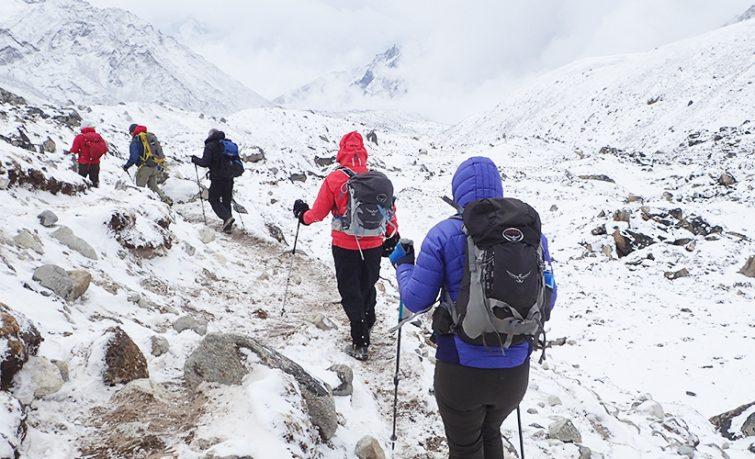 Mount Everest Basecamp Adventure graphic