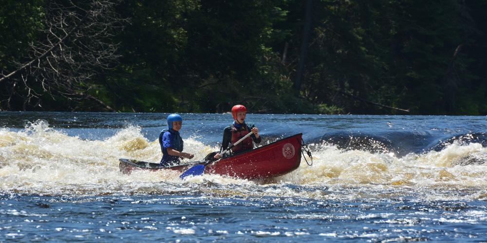 canoeing ontario white water