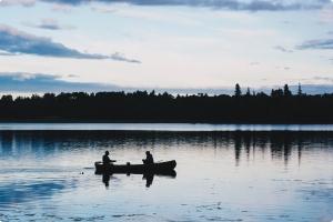canoeing ontario flatwater graphic