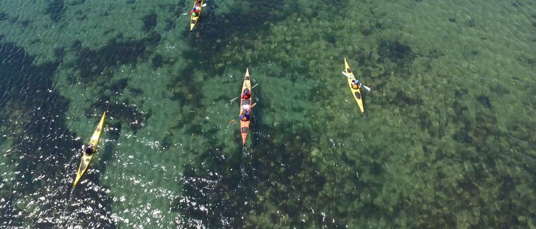 east coast sea kayaking