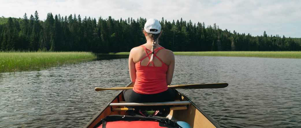 Canoeing Ontario youth summer adventure