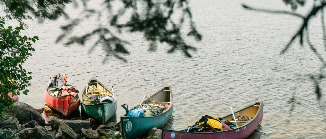 canoeing Ontario youth summer