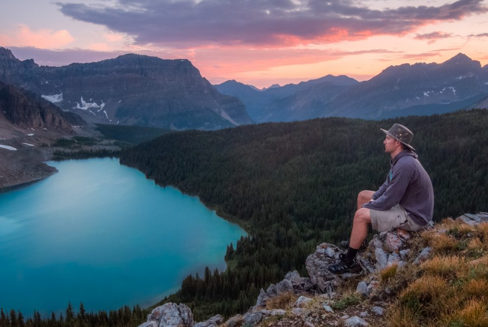 banner-boy-mountains-hiking-reflection-sunset-lookout