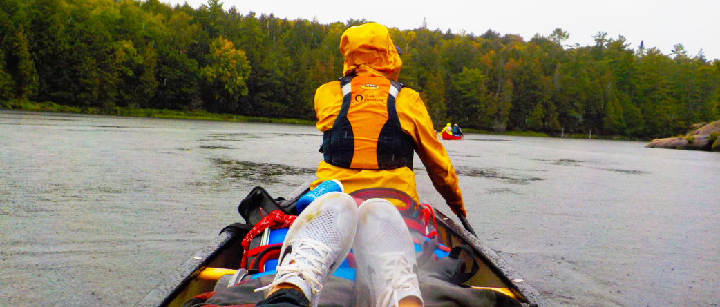 northern ontario flat water canoeing